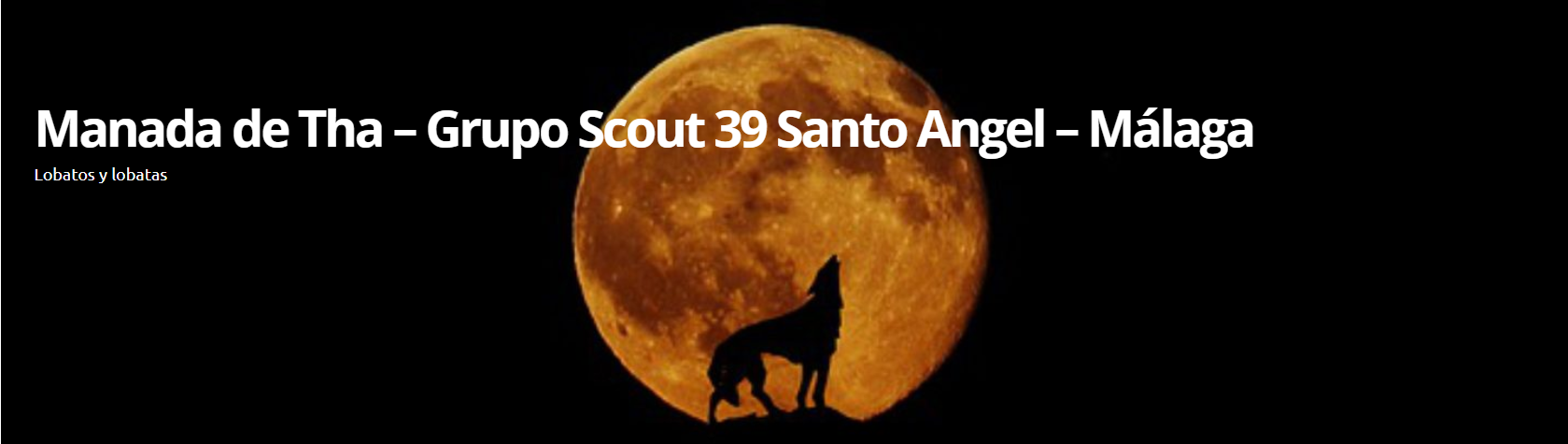 Manada de Tha – Grupo Scout 39 Santo Angel – Málaga